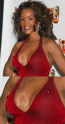 Celebrity Flaw of the Day - Vivica Fox Breast Implants
