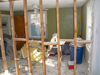 Top notch woodworks removing load bearing wall for Removing part of a load bearing wall