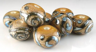 Triton on Ivory Beads