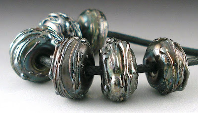 Silver Plum Spacer Beads