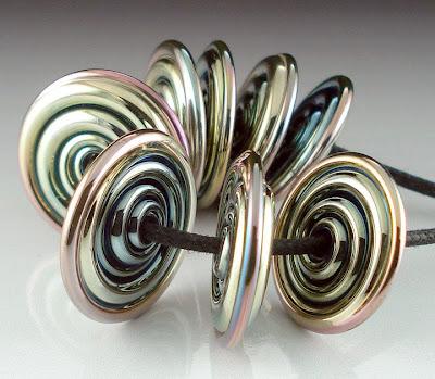 8 Triton Disk Beads