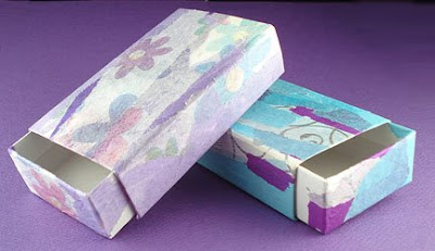 Decorated Slide Boxes