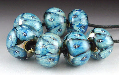 Triton and Kronos frit beads