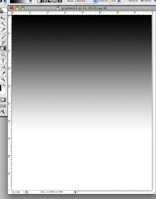 Step 3: Finished Gradient, Photoshop Tutorial