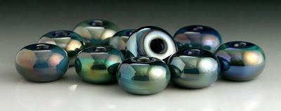 Nyx Lampwork Beads