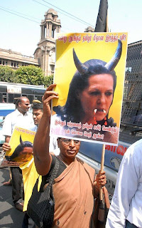 Sonia Gandhi And Her Influence She Has In Congress Is Really Misused Against Tamils If She Is Taking Revenge She Made A Mistake By Indirectly Being