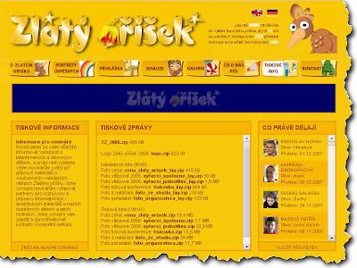 Zlatý oříšek - soutěž pro nadané a šikovné děti, Česká republika
