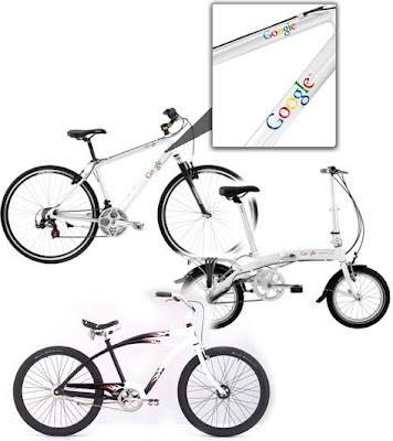 Google bikes in Europe
