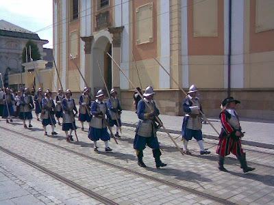 Olomouc - Švédské vojsko