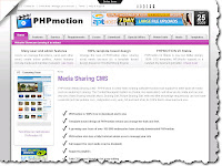 PHP Motion - Video sharing software