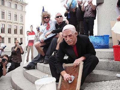 Václav Klaus pere špinavé peníze