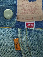 Levis vintage model 606 Big E made in usa
