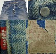 Levis vintage model 501 Big E made in usa