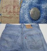 Levis vintage model 505 big E made in usa
