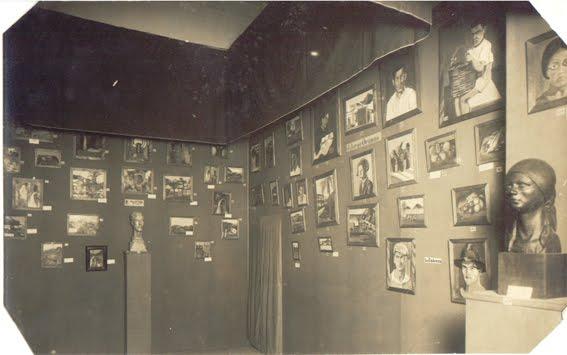 primeras exposiciones en la escuela
