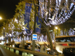 Champs-Elysées in December
