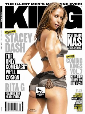 Stacey Dash on KING Magazine