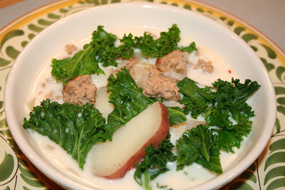 Cook with susan olive garden zuppa toscana for How to make zuppa toscana from olive garden
