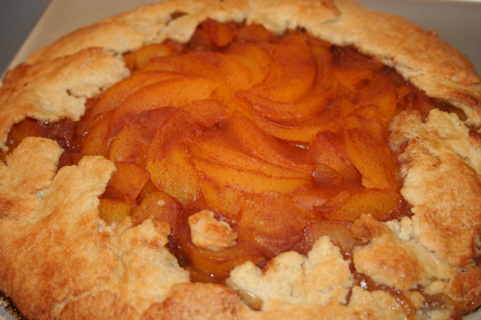 COOK WITH SUSAN: Rustic Peach Tart
