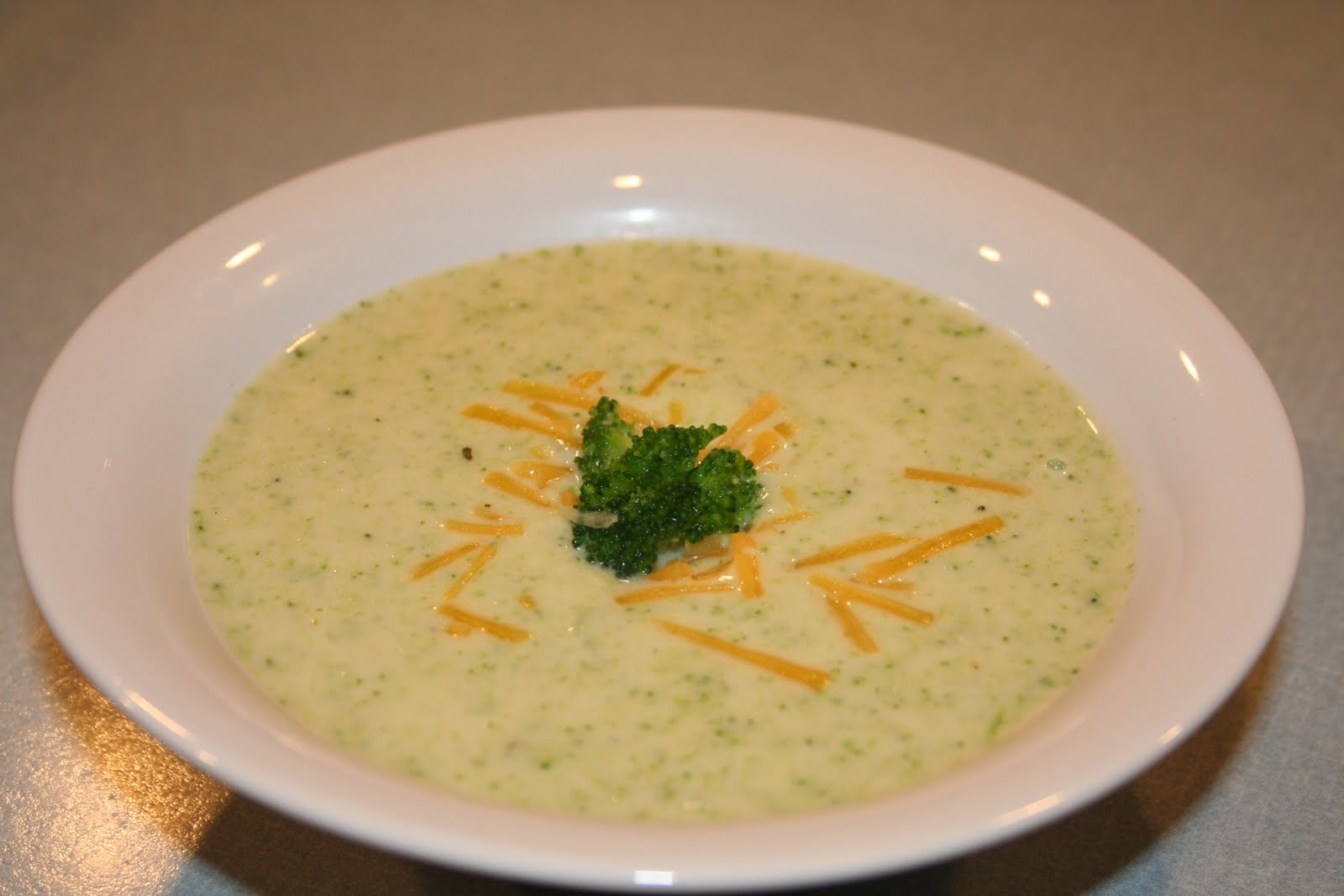 COOK WITH SUSAN: Broccoli Cheese Soup