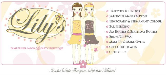 Lilys Pampering Salon and Party Boutique