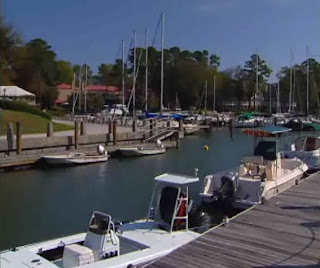 yatch berth at Hilton Head Island