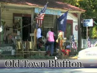 quaint shop at old town bluffton, Hilton Head island