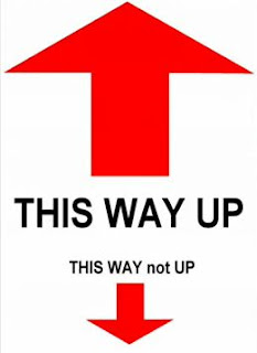 This way up vs this way not up