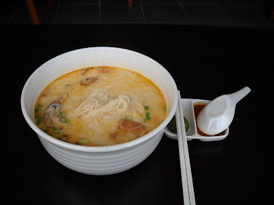 fried sung fish head noodles