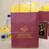 Personalized 8 x 5 x 10 Graduation Gift Bags