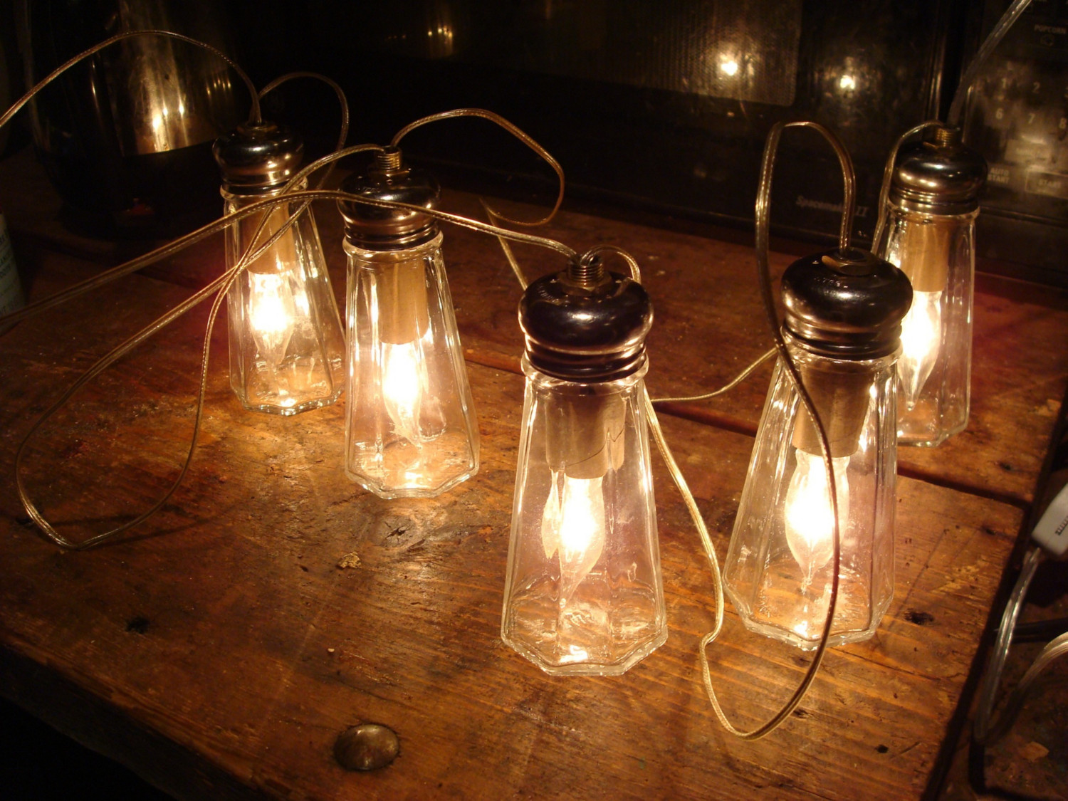 Rustic Indoor String Lights : July 2010