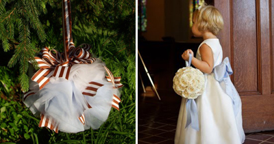 Pomander Kissing Ball Bouquets