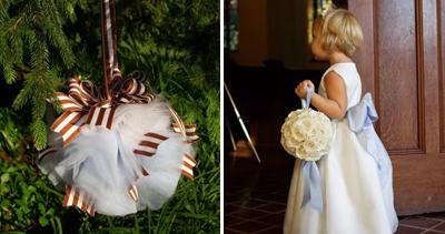 Pomander Kissing Ball Bouquets