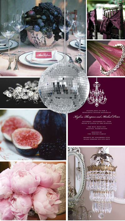 Fig and Platinum New Year Inspiration Board