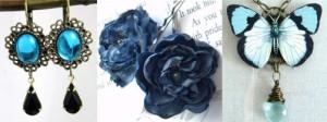 something blue collage