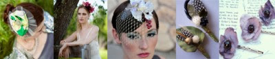 hair accessory collage