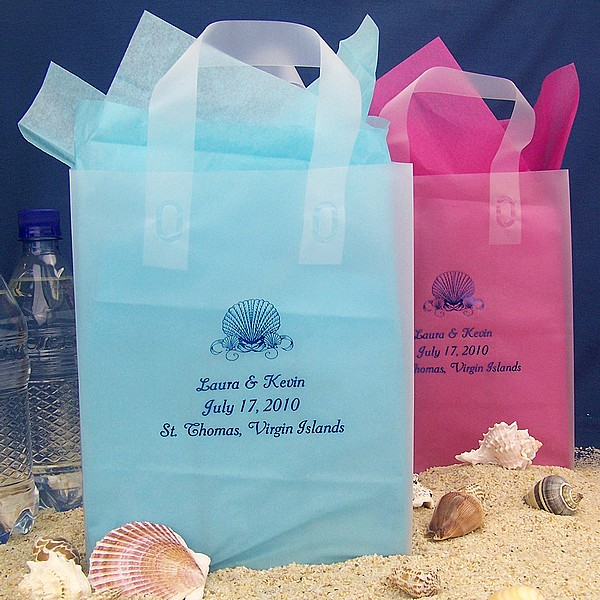 Ideas For Bridal Gift Bags : Be Creative with Beach Weddings