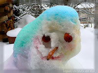 bunter Schnee