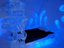 une suite de l'hotel de glace