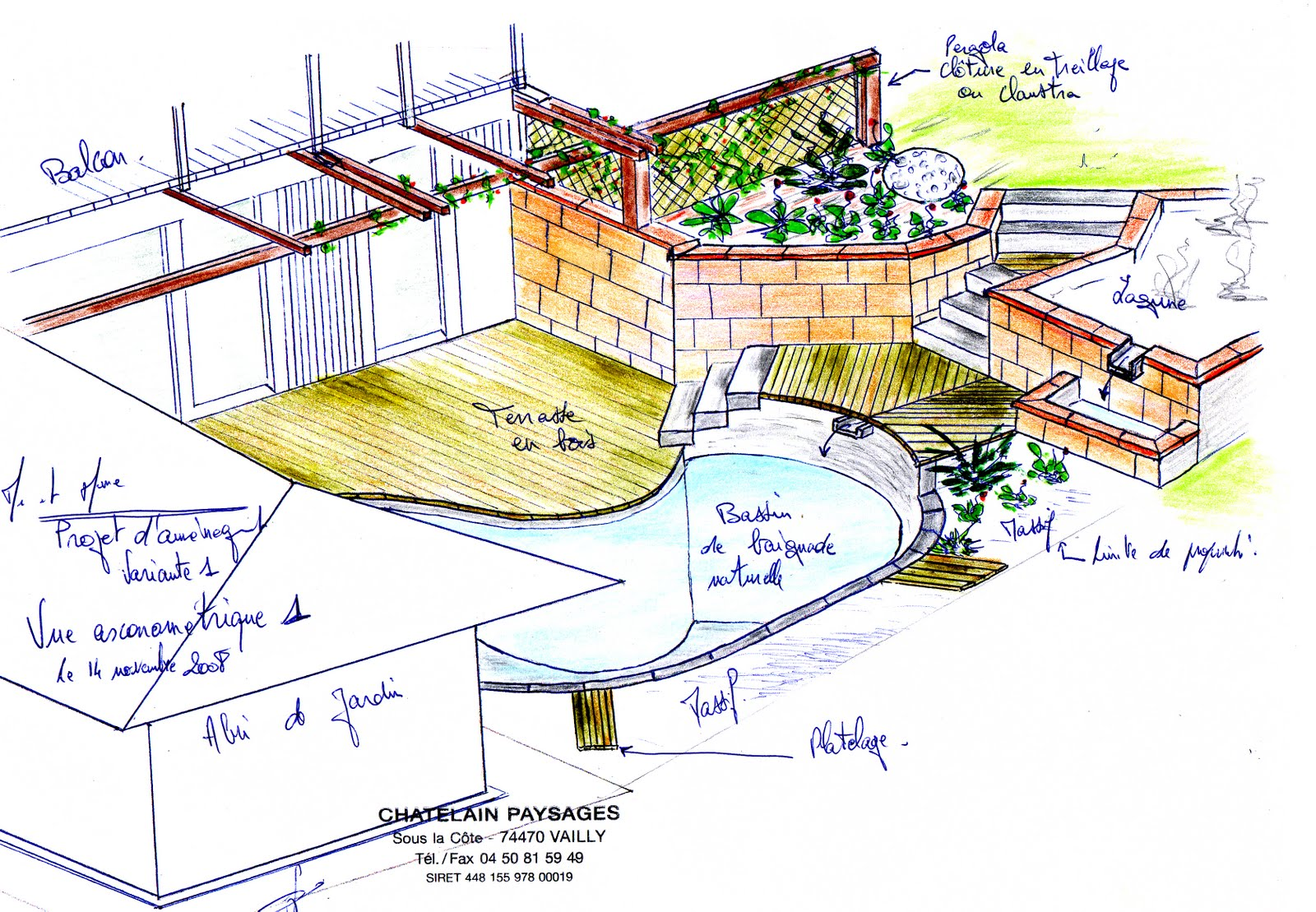 Paysagiste et am nagement de jardin thonon et annemasse for Croquis jardin paysager