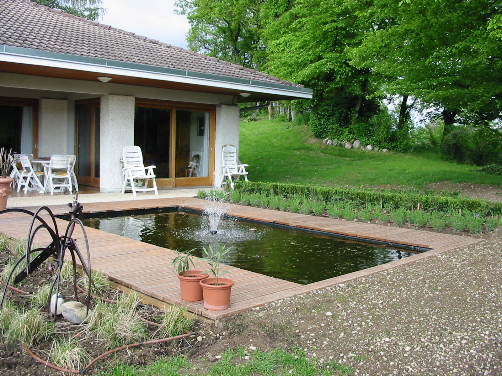 Paysagiste et am nagement de jardin thonon et annemasse bassin d 39 agr ment for Photo bassin de jardin