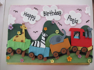 Birthday cake images with name pooja