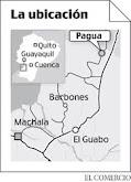 """ubicacion del canton el """"GUABO"""""""