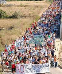 Desde a Ria de Ferrol, na Galiza, solidariedade coa Cidadania das Terras do Sènia