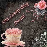 One lovely blog award from Joanne