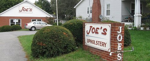 Joe's Upholstery Shop in Frederick Md