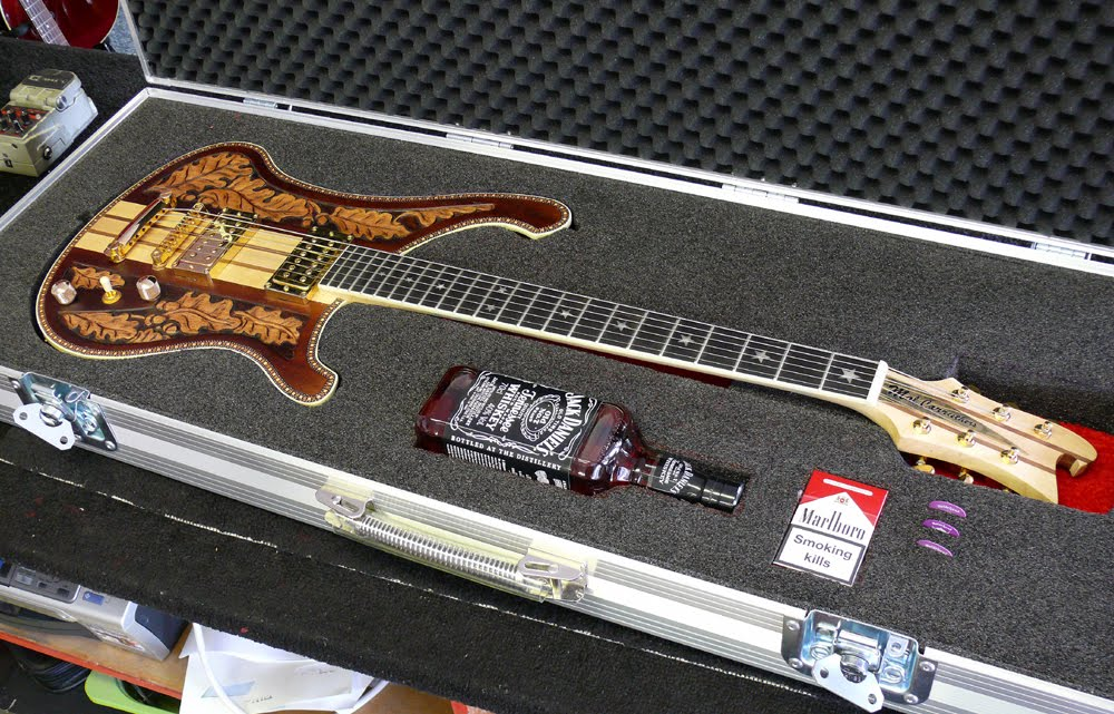 tc ellis guitars blog  lemmy inspired guitar