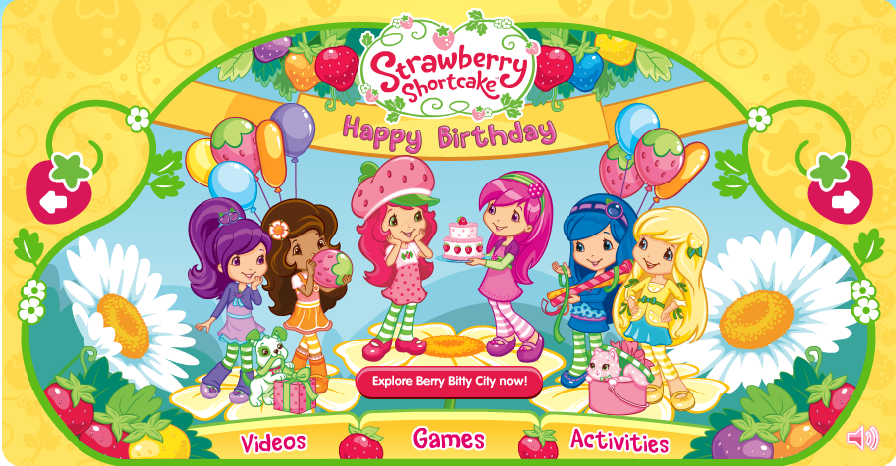 Strawberry Shortcake Coloring Pages 2010. Since 2010 is Strawberry