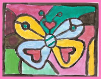 borboleta2 Releitura As Borboletas Romero Brito para crianas