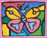 borboleta3 Releitura As Borboletas Romero Brito para crianças